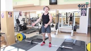 видео Подъем штанги на бицепс