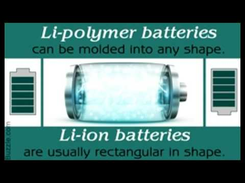 Lithium ion Vs  Lithium polymer Batteries Smartphone Power Wars