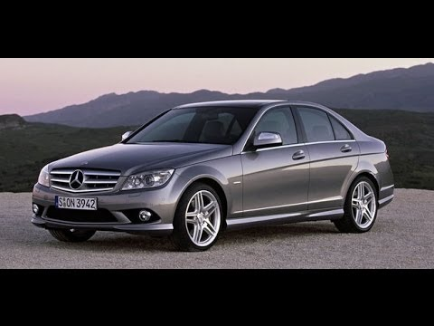 w204 mercedes c class change brake pads rear break pad youtube. Black Bedroom Furniture Sets. Home Design Ideas