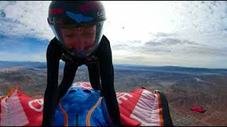 GoPro Fusion VR 360 Aly surfing wingsuit deployment