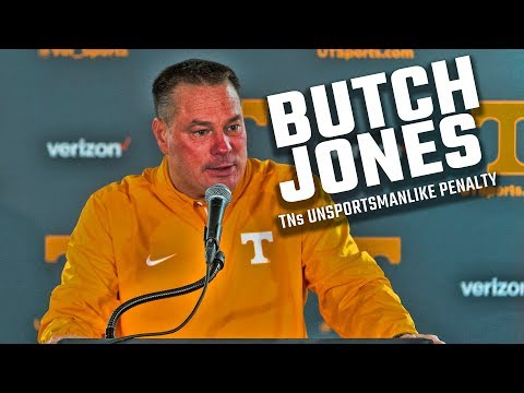 Watch Butch Jones address Tennessee