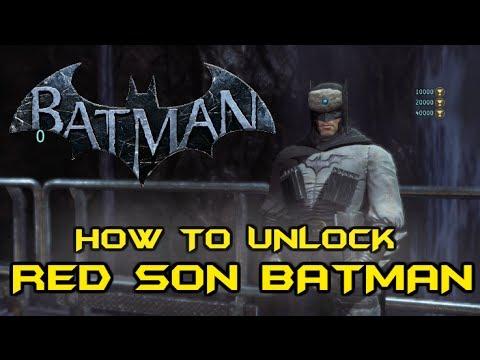 Batman Arkham Origins: How to Unlock Red Son Batman Skin ...