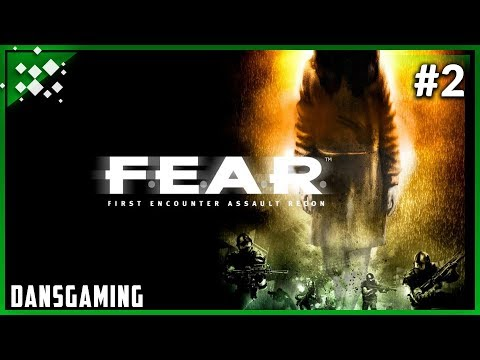 Let's play F.E.A.R. 1 (Part 2) - Dansgaming - PC Gameplay