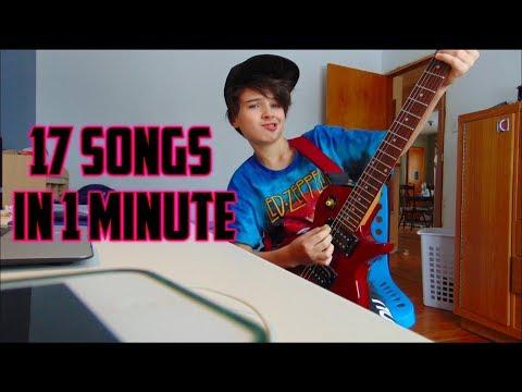 17 Songs in 1 Minute