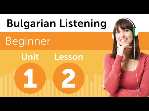 Bulgarian Listening Practice - Rearranging the Office in Bulgaria