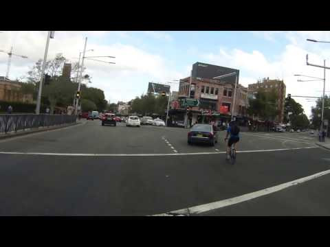 Bad driving around a Sydney cyclist - October 2016 to February 2017
