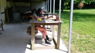 Taylor with my Adams Arms AR