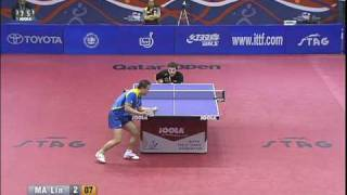 Qatar Open: Timo Boll-Ma Lin