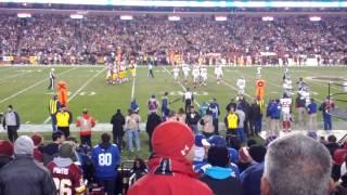 New York Giants defense vs Redskins