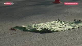 В центре Петропавловска грузовик сбил пенсионерку