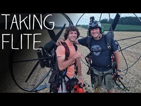 Flying Paramotors With Josh Bixler!