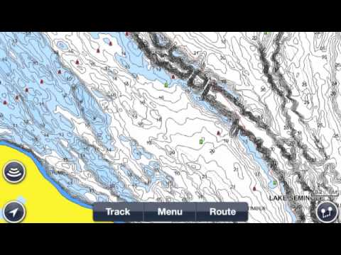 how to use navionics mobile app