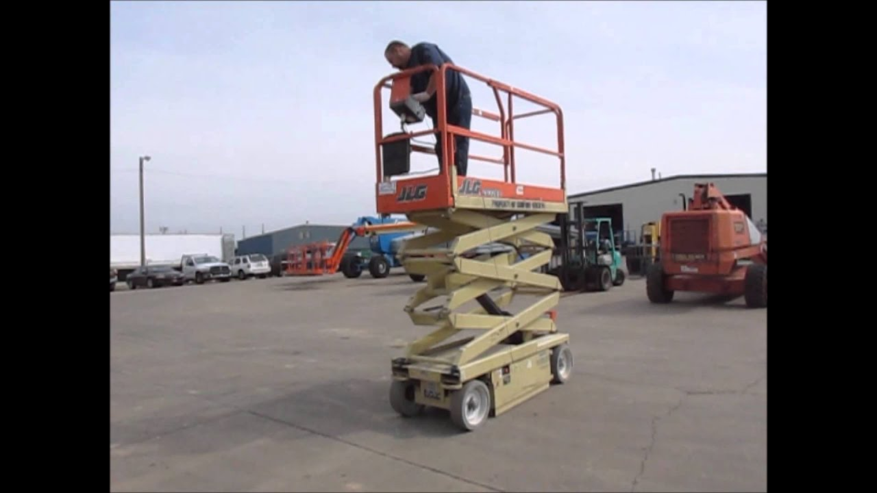 2000 Jlg 2032e2 Electric Scissor Lift For Sale Sold At Auction Wiring Harness April 24 2014
