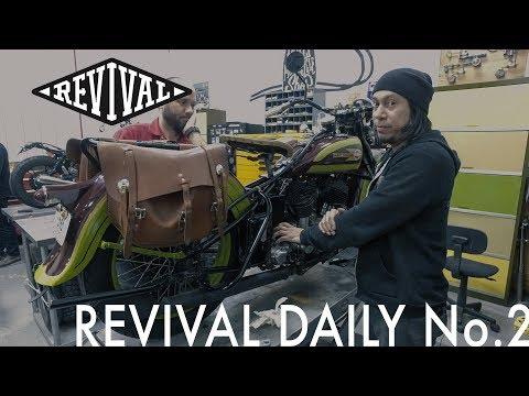 1936 Harley Davidson VLH // Revival Daily No. 2