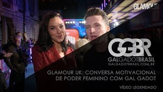 Glamour UK: Conversa Motivacional com Gal Gadot [HD] (Legendado)