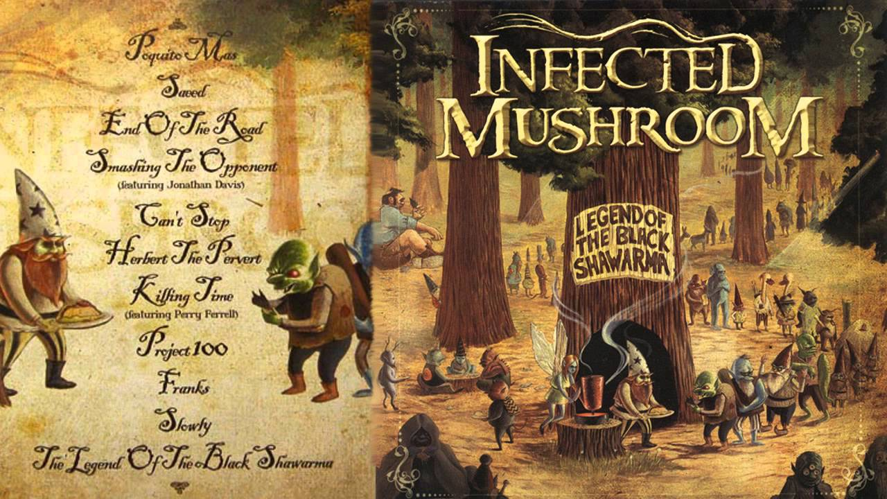 Infected Mushroom Latest Songs Cool infected mushroom - poquito mas - youtube