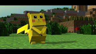 Gotta Catch 'em all - A Minecraft Pikachu Animation