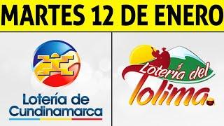 Resultados Lotería de CUNDINAMARCA y TOLIMA Martes 12 de Enero de 2021 | PREMIO MAYOR 😱💰🚨