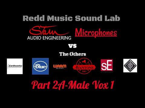 RMS Lab Stam Audio Mic Shoot Part 2A: Male Vox 1