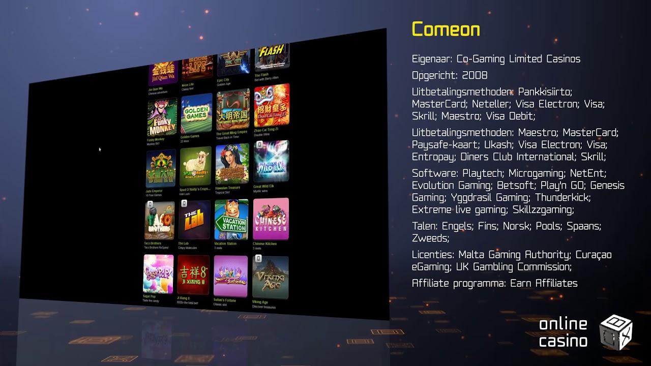 Casino Comeon