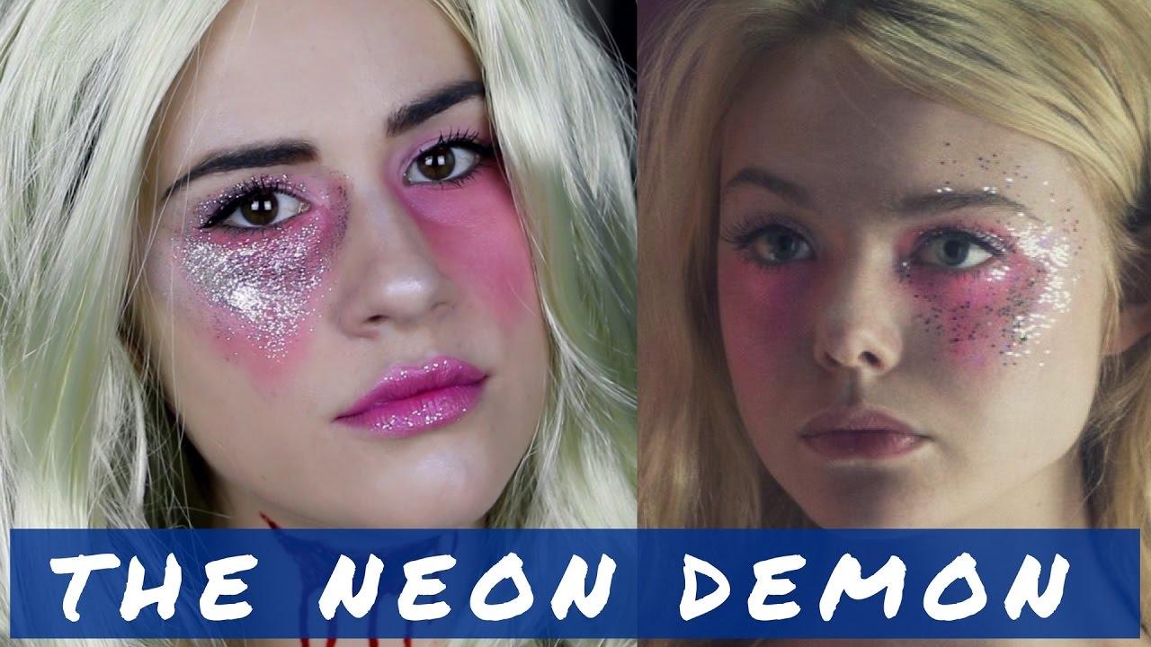 the neon demon tutoriel maquillage halloween 2016 youtube. Black Bedroom Furniture Sets. Home Design Ideas