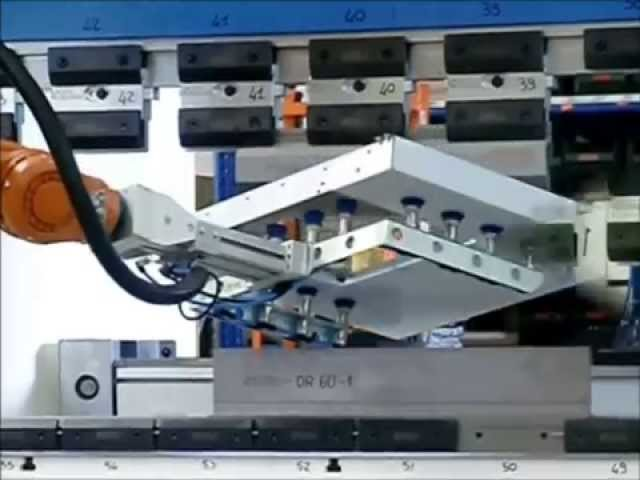 ROBOT - PIEGATURA LAMIERA - BENDING SHEET METAL