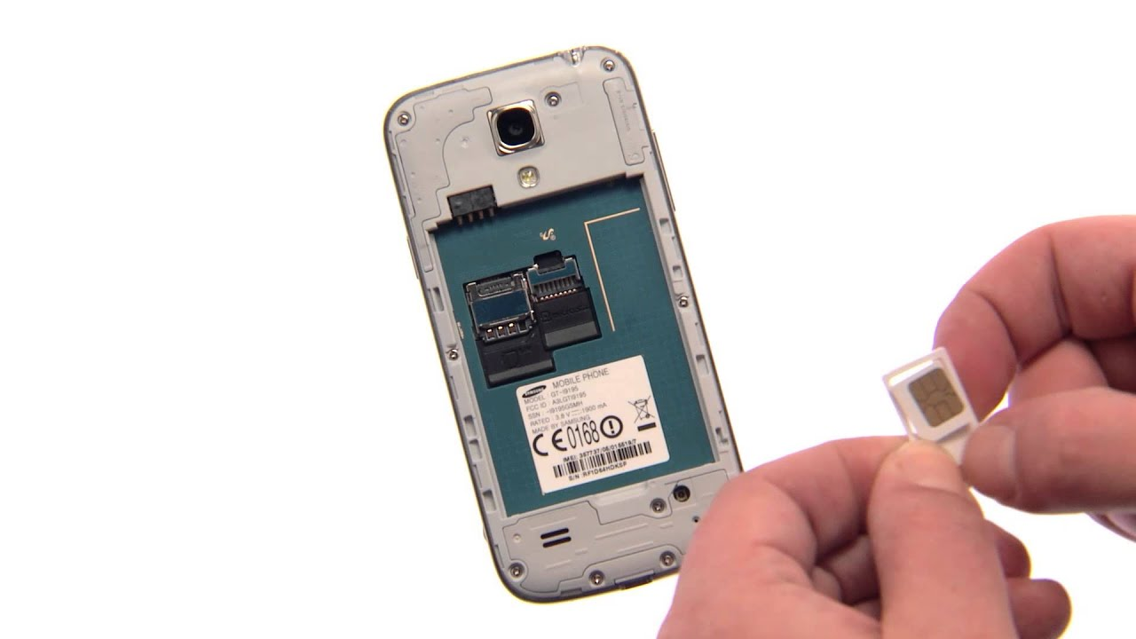 samsung s4 how to put contacts on sim card