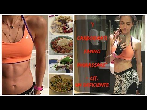 E DICONO CHE I CARBO FANNO INGRASSARE || What I Eat In A Day #9