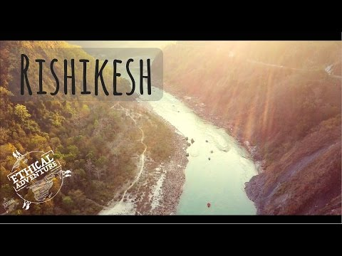 Rishikesh From Above | 4k India Drone Footage | DJI Mavic Pro