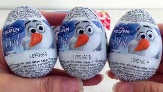 Surprise Eggs Disney Movie Frozen Olaf 奇趣蛋 出奇蛋 迪士尼動畫 冰雪奇緣 雪寶