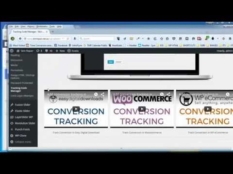 How To Install Facebook Tracking Pixel On A Wordpress Website 2015
