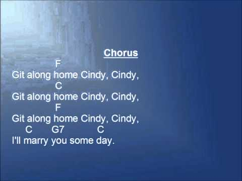 Cindy Cindy Lyrics and Chords