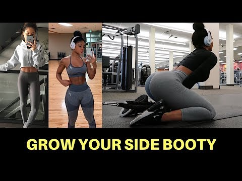 BEST EXERCISES TO GROW YOUR SIDE GLUTES (GET WIDER LOOKING HIPS)