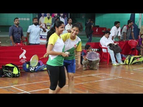Celebrity Badminton League - Kerala Royals Practice Session Video