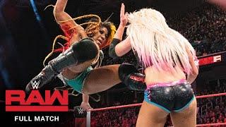 FULL MATCH: Ember Moon vs. Alexa Bliss: Raw, August 13, 2018