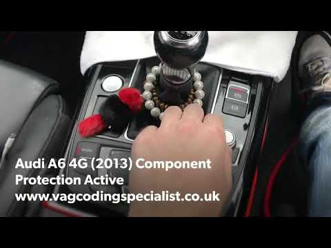 Audi A6 4G (2013) Component Protection Removal