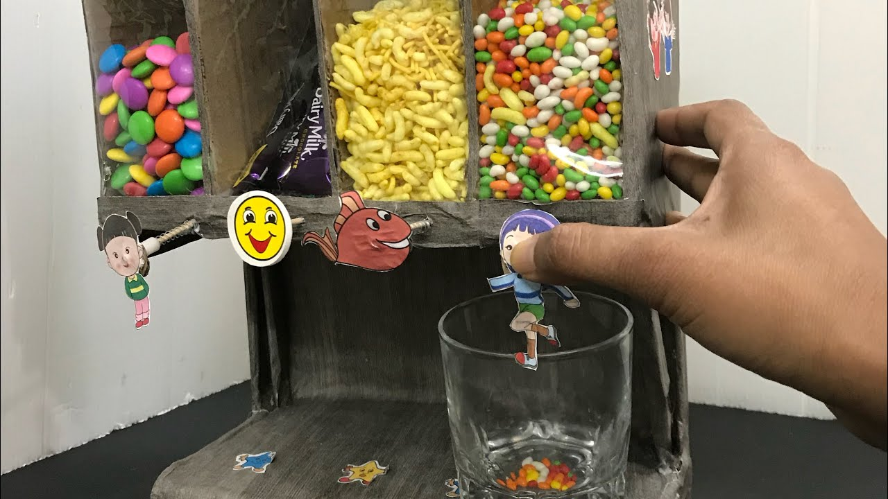 How to make candy dispenser or cereal dispenser youtube how to make candy dispenser or cereal dispenser ccuart Image collections