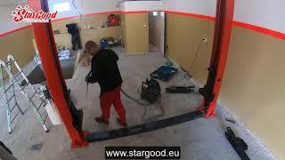 Dvojstĺpový zdvihák montáž | www.stargood.eu