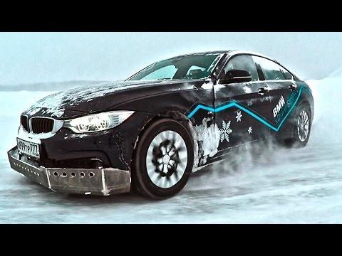Жёсткие испытания BMW X Drive в Сибири. Тест драйв БМВ 3 и 4 Серии.