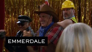 Emmerdale - Charity Is Horrified When She Sees Who Her Strippers Are