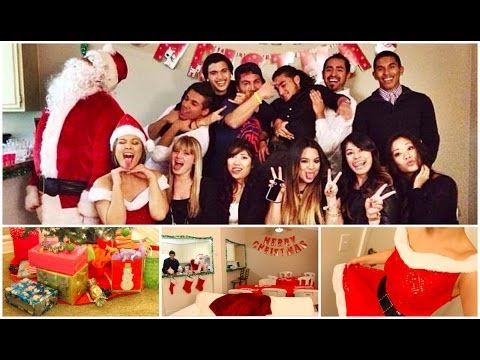 A Christmas Party.How To Throw A Christmas Party