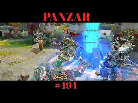 видео: panzar - Разгребаем завалы с Крейзи пацанами (танк)#494
