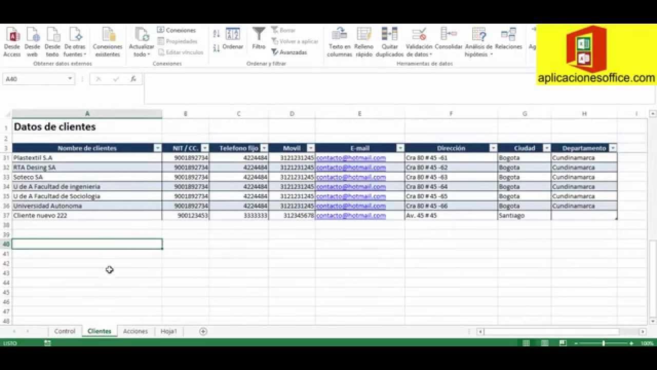Aplicacion seguimiento, control, gestion, reunion de clientes en ...
