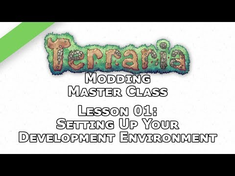 Terraria Modding Master Class – Lesson 01 – Beginner – Setting Up