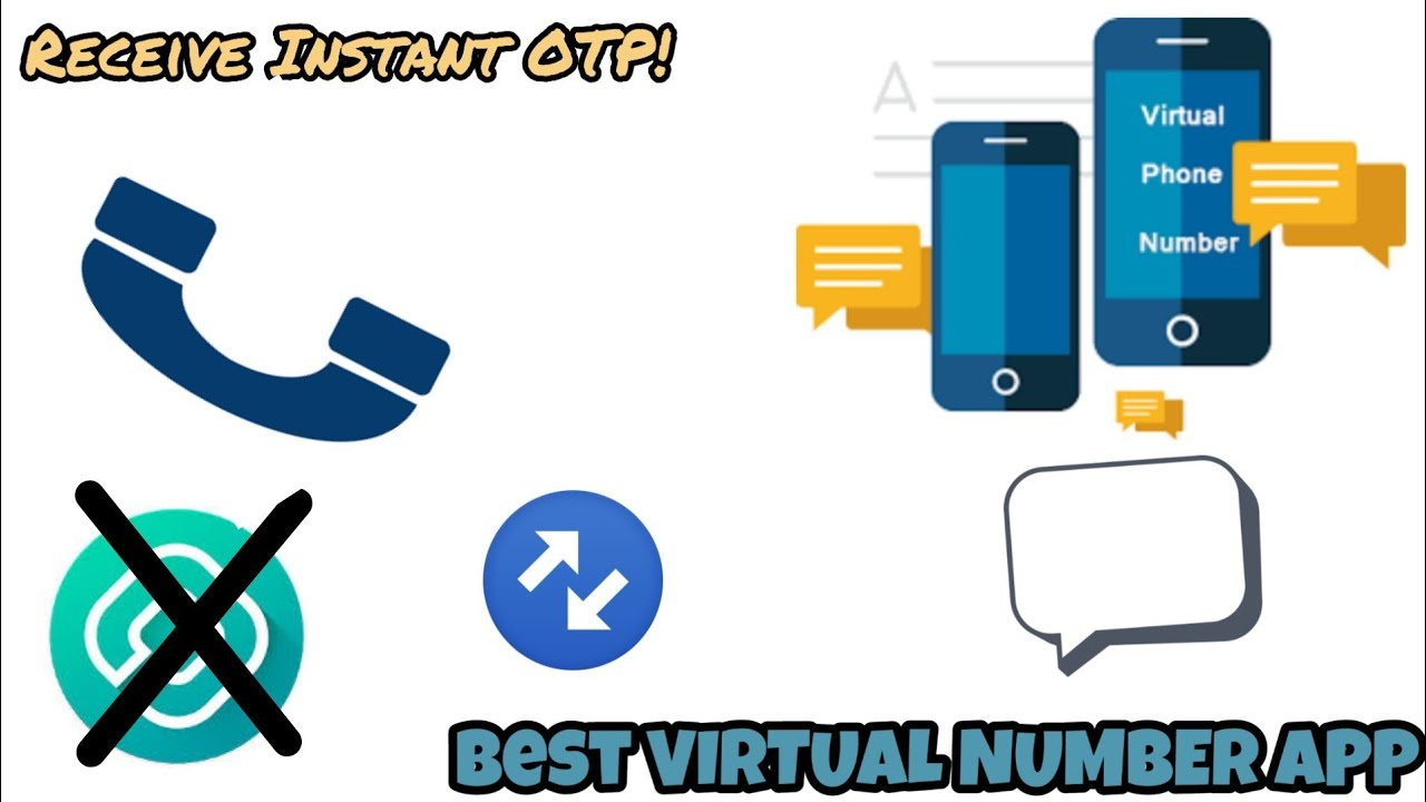 [App]Unlimited Virtual Numbers for OTP| Similar to 2nd Line/TextNow