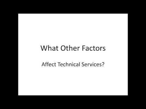 Future of Technical Services (Part 1): An Overview of the Future of Technical Services