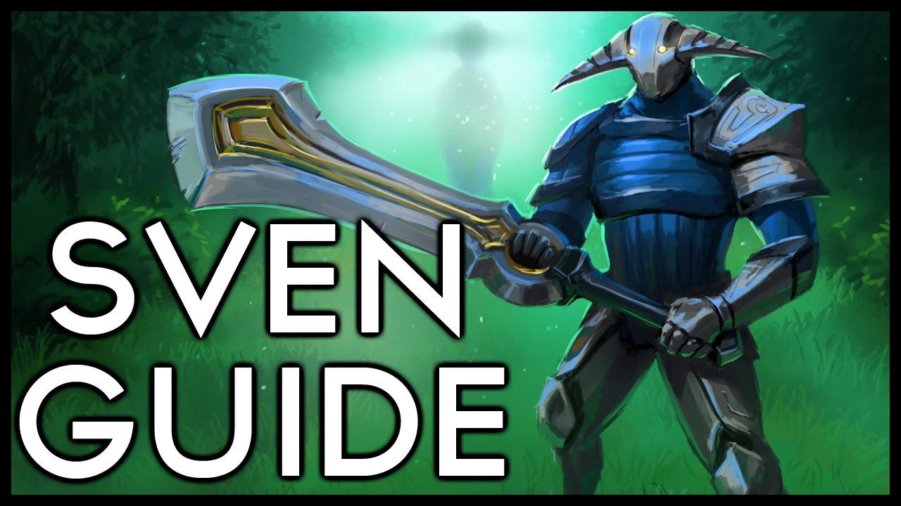 Mid and late game mindset as sven | dota 2 sven guide | 7k mmr.