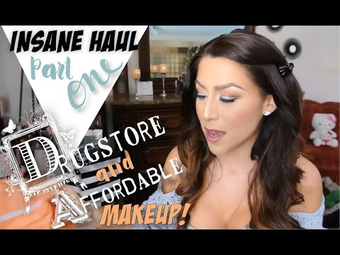 INSANE HAUL PART 1 (Drugstore & Affordable)