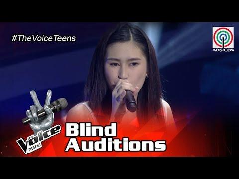 The Voice Teens Philippines Blind Auditon: Isabela Vinzon - Feeling Good