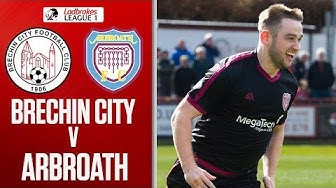 Brechin City 1-1 Arbroath | Arbroath Clinch League 1 Title! | Ladbrokes League 1